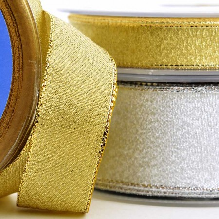 METALLIC RIBBON (WIRED)